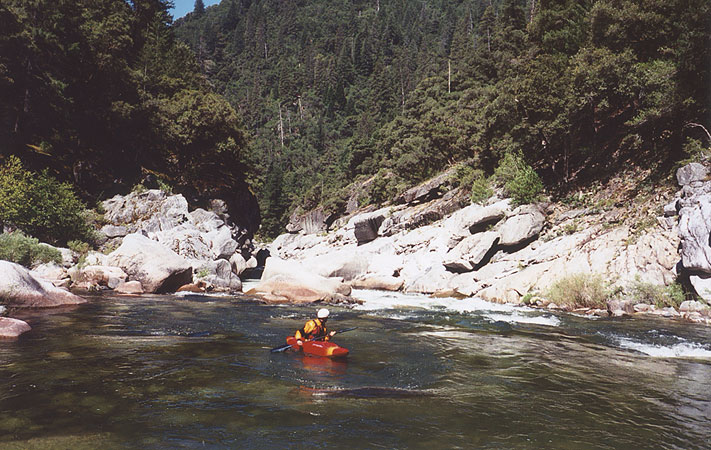 The Middle Fork of the Feather (Devils Canyon)